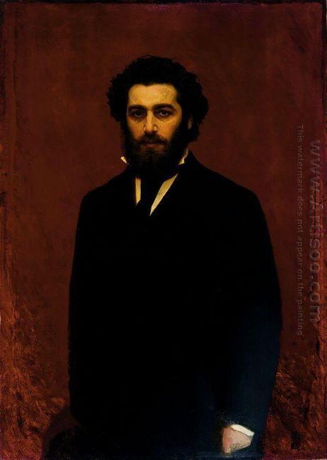 Portrait A I Kuindzhi 1870