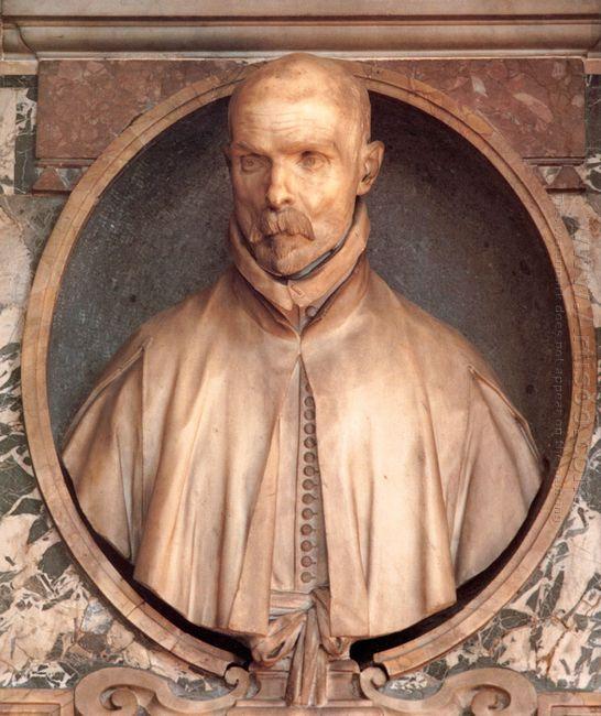 Portrait Bust Of Pedro De Foix Montoya