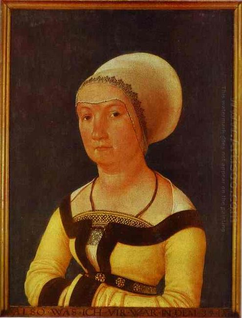 Portrait Of 34 Year Old Woman 1516