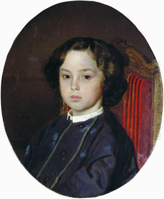 Portrait Of A Boy 1867
