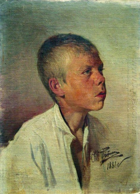 Portrait Of A Boy 1881