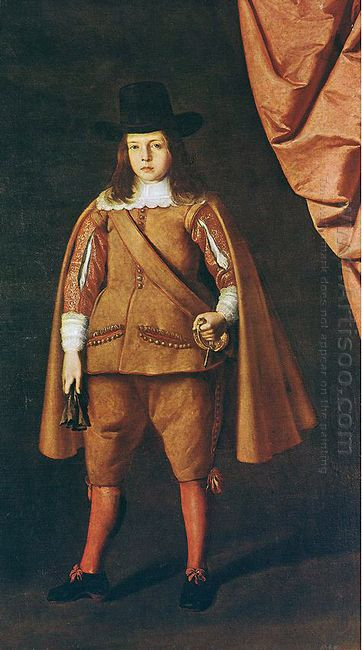 Portrait Of A Boy The Duke Of Medinaceli