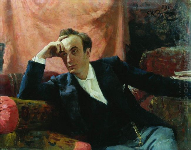 Portrait Of Actor And Dramatist Grigory Grigorievich Ghe 1895