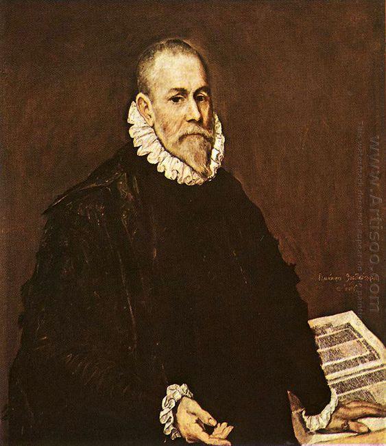 Portrait Of A Doctor Rodrigo De La Fuente