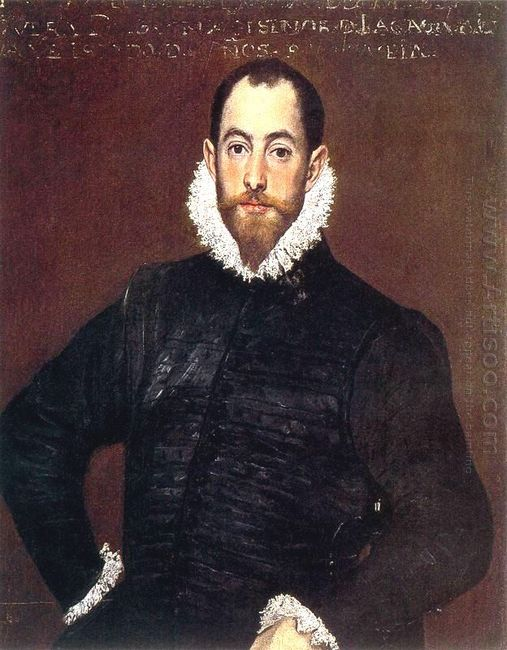 Portrait Of A Gentleman From Casa De Leiva 1580