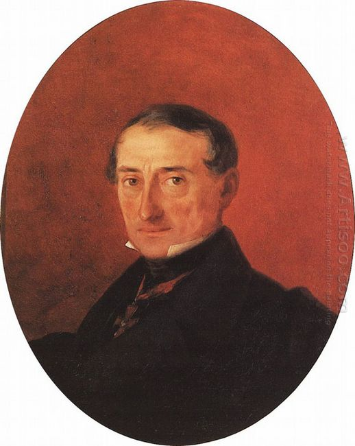 Portrait Of A I Kaznacheev 1847
