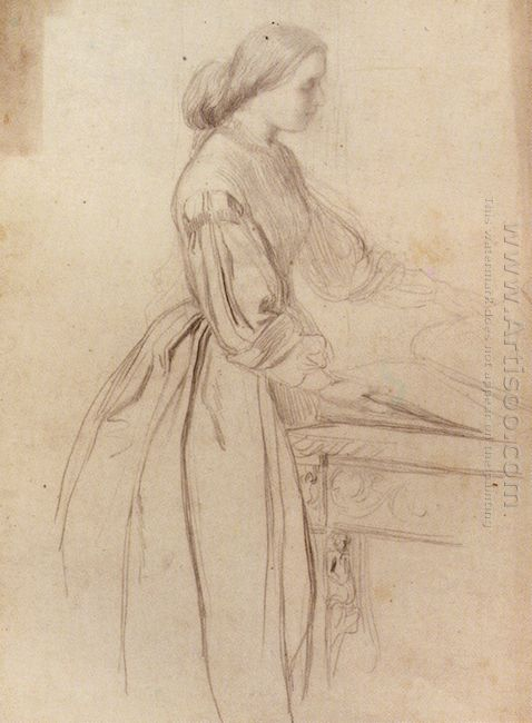 Portrait Of A Lady Possibly Julia Jackson