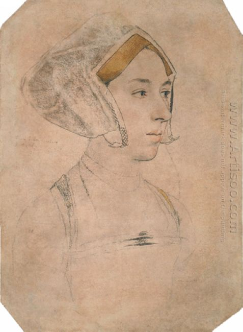 Portrait Of A Lady Thought To Be Anne Boleyn