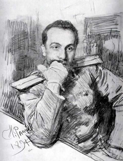 Portrait Of Aleksandr Zhirkevich 1891