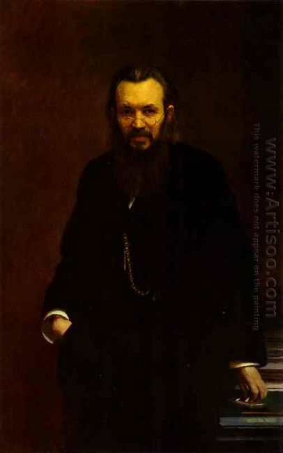 Portrait Of Alexei Suvorin 1881