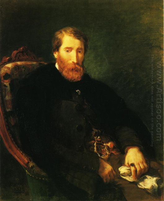 Portrait Of Alfred Bruyas 1853