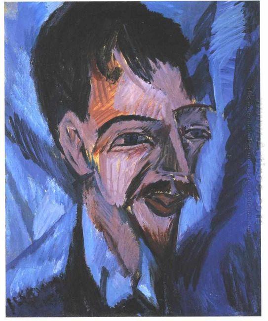 Portrait Of Alfred Döblin