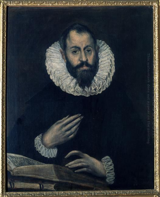 Portrait Of Alonso De Herrera