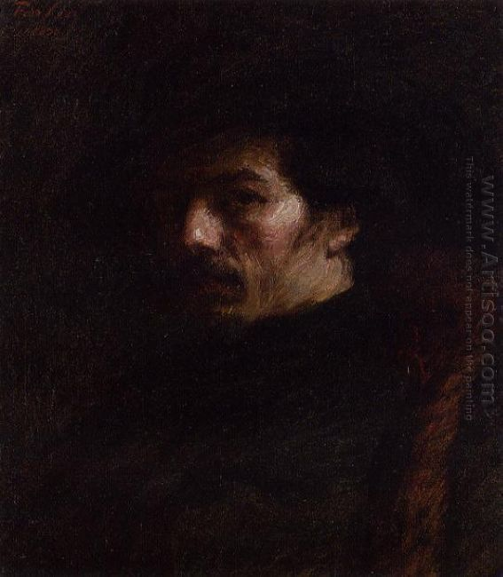 Portrait Of Alphonse Legros