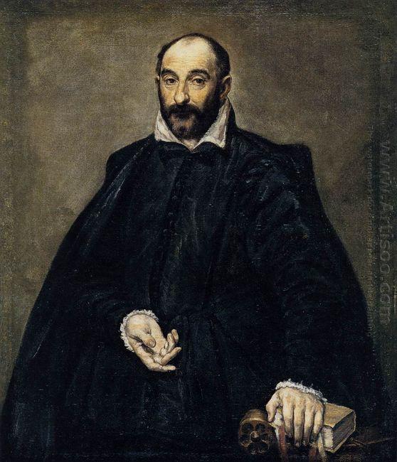 Portrait Of A Man Andrea Palladio 1575