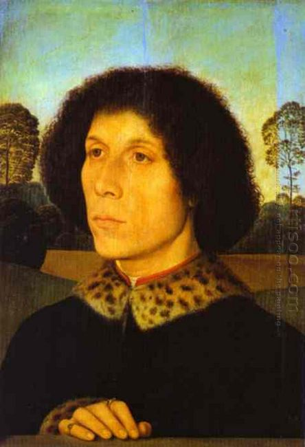 Portrait Of A Man In A Landscape