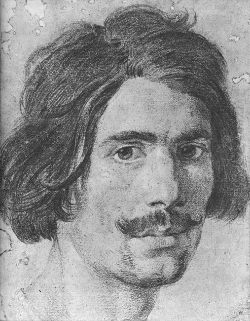 Portrait Of A Man With A Moustache Supposed Self Portrait