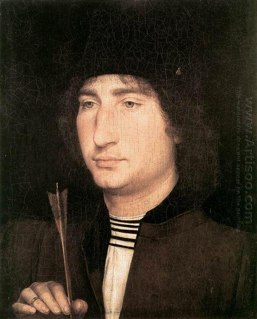 Portrait Of A Man With An Arrow 1480