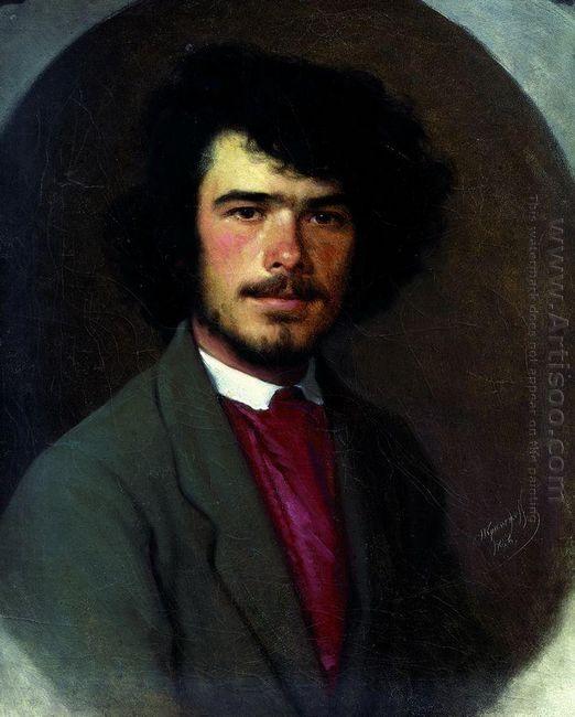 Portrait Of An Agronomist M E Vyunnikov 1868