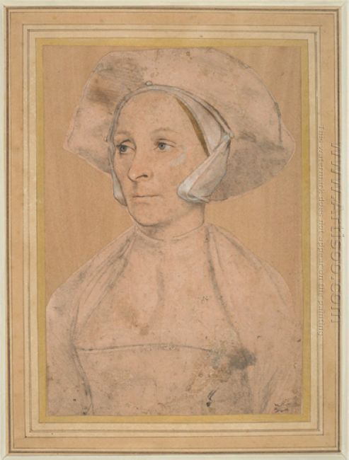 Portrait Of An Englishwoman 1532