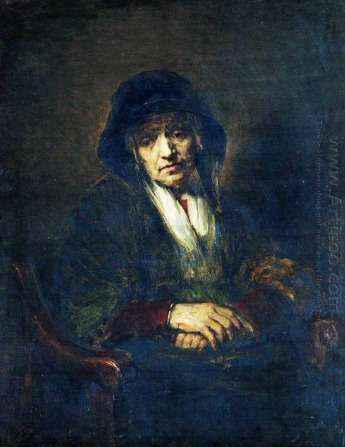 Portrait Of An Old Woman 1870