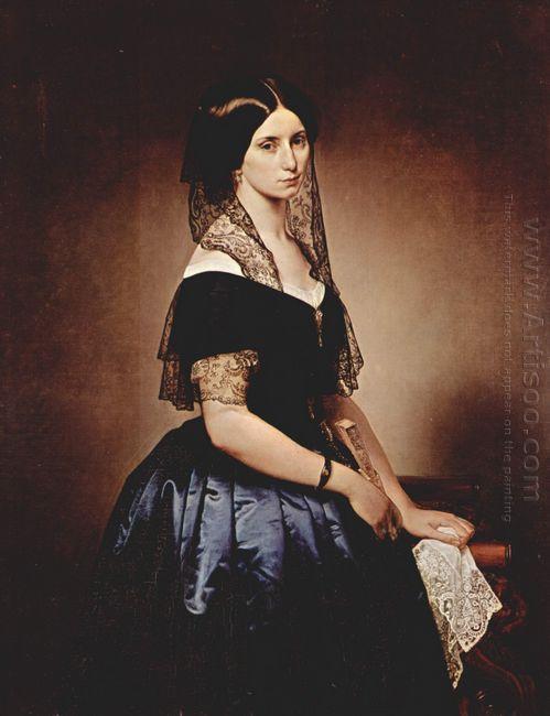 Portrait Of Antoniet Tarsis Basilico 1851