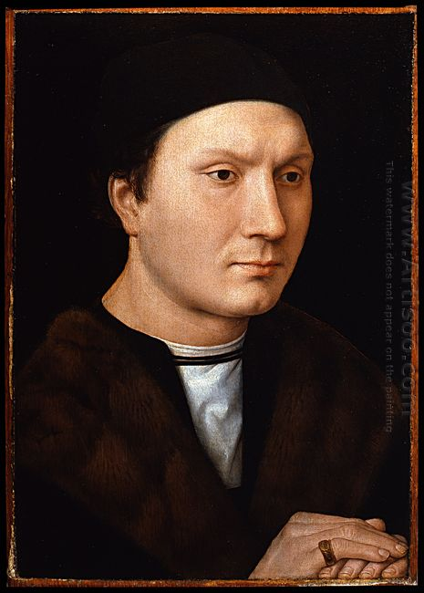 Portrait Of An Unknown Man With A Letter 1485