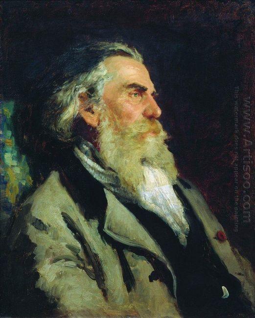 Portrait Of A P Bogolyubov 1882
