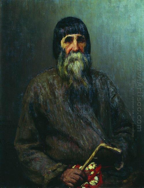 Portrait Of A Peasant 1889