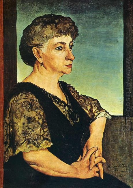 Portrait Of Artist S Mother 1911