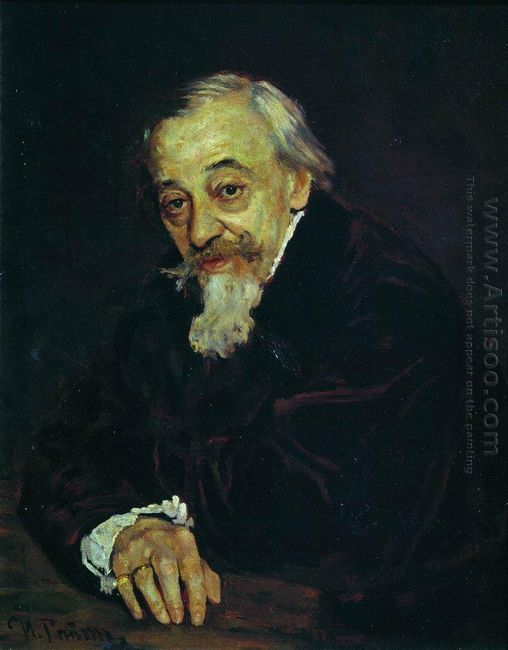 Portrait Of Artist Vladimir Samoilov 1902