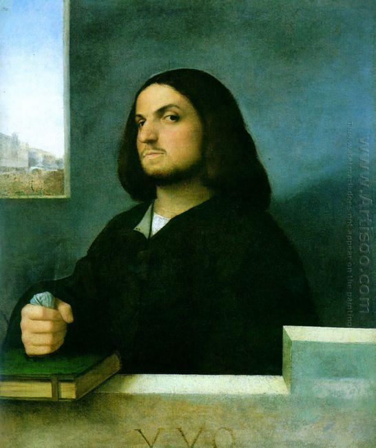 Portrait Of A Venetian Gentleman 1510