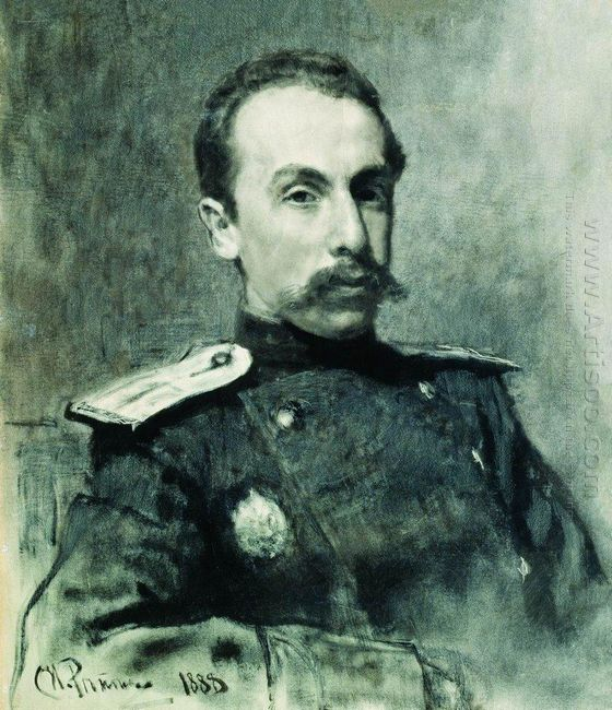 Portrait Of A V Zhirkevich 1888