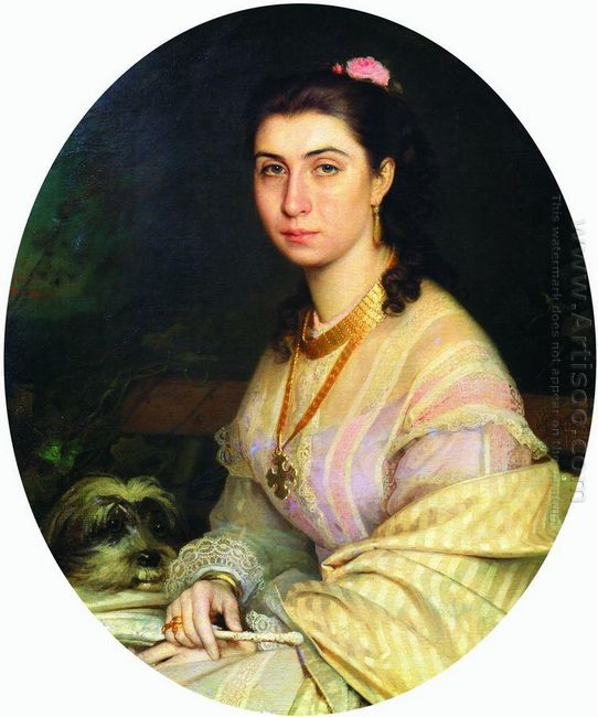 Portrait Of A Woman 1867