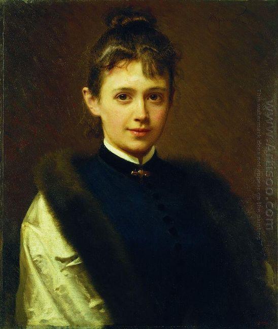 Portrait Of A Woman 1884