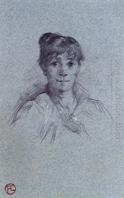 Portrait Of A Woman 1888