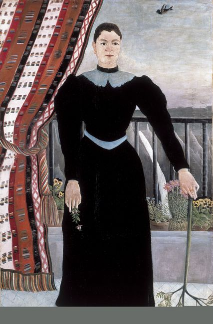 Portrait Of A Woman 1895