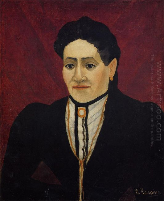 Portrait Of A Woman 1905