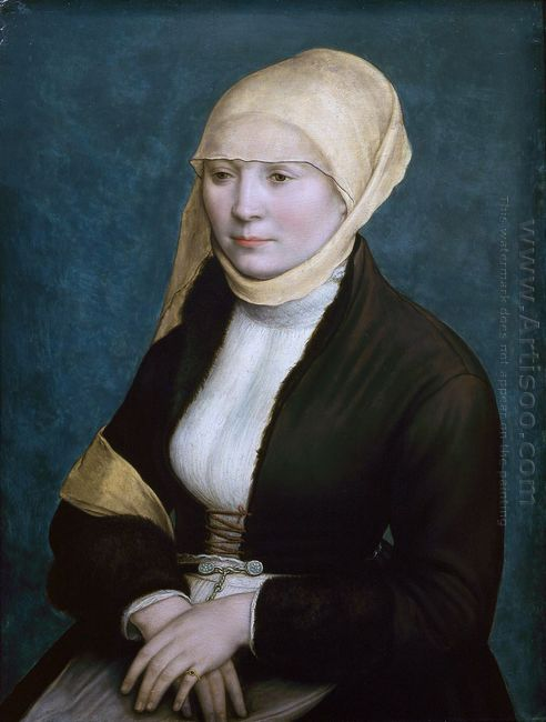 Portrait Of A Woman From Southern Germany