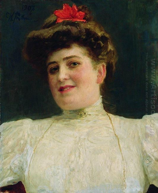 Portrait Of A Woman Olga Shoofs 1907
