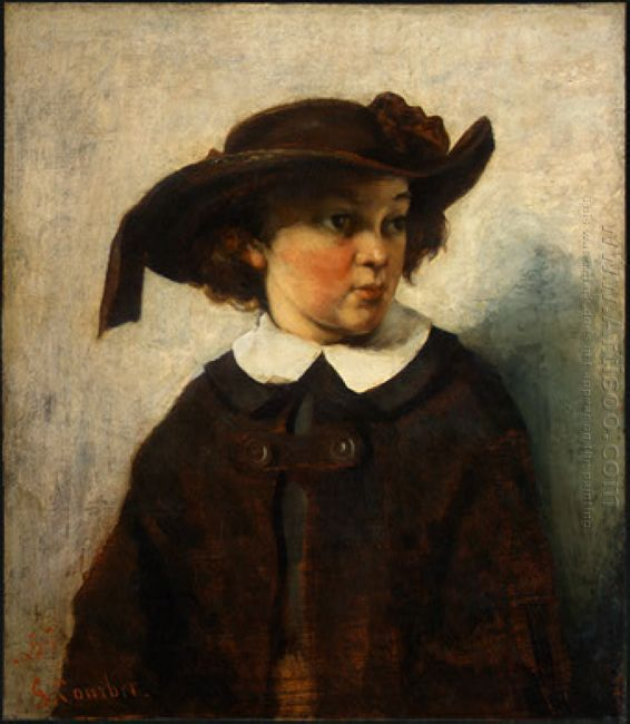 Portrait Of A Young Girl 1857