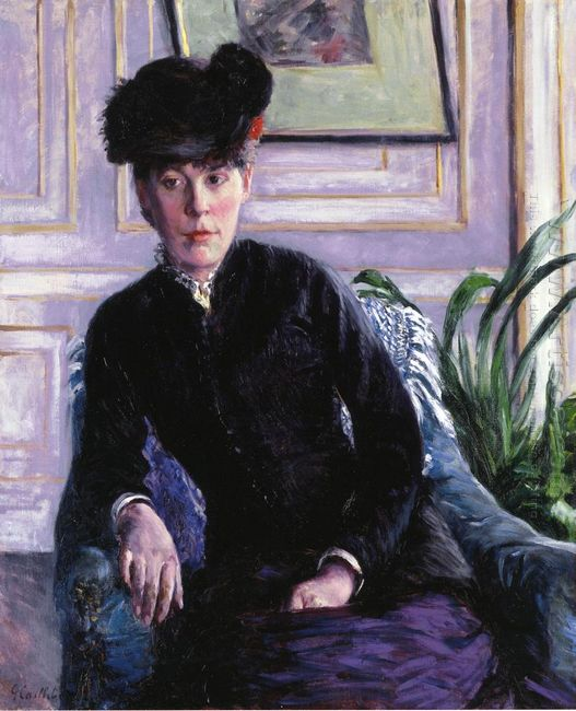 Portrait Of A Young Woman In An Interior