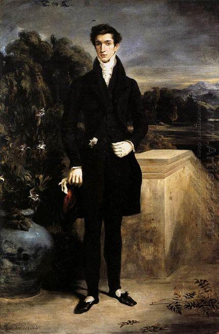 Portrait Of Baron Schwiter 1827