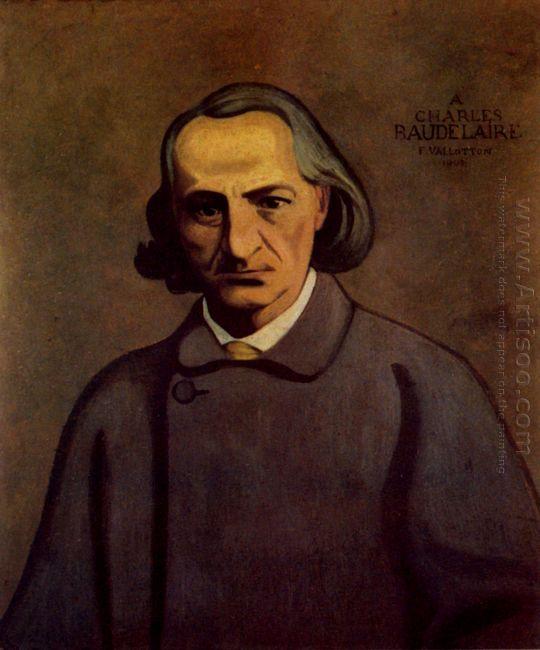 Portrait Of Baudelaire 1902