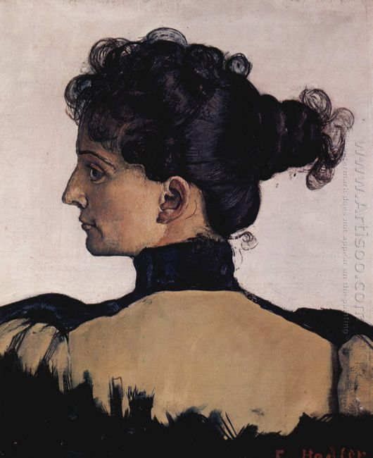 Portrait Of Berthe Jacques Wife Of The Artist 1894