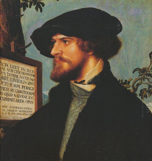 Portrait Of Bonifacius Amerbach 1519