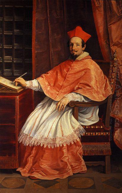 Portrait Of Cardinal Bernardino Spada 1631