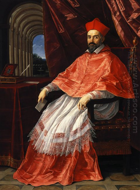 Portrait Of Cardinal Roberto Ubaldini 1625