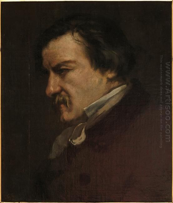 Portrait Of Champfleury 1855