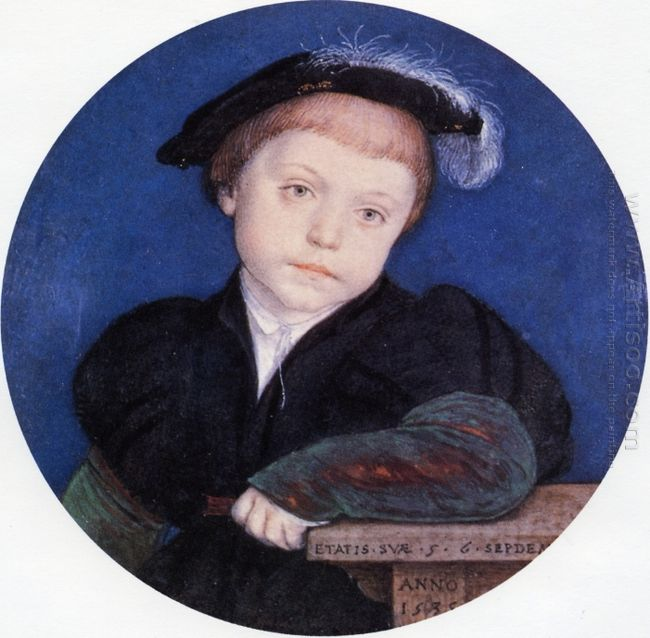 Portrait Of Charles Brandon 1541